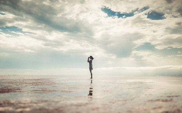 我不怕图片_不喜热闹,又怕孤独_意境图片_悦读文网